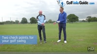 2 Check Points For Your Golf Swing - Video Lesson by PGA Pros Pete Styles and Matt Fryer