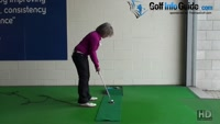 Putting Stroke, A No Peek Putter Tip Video - by Natalie Adams