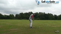 A Sweeping Golf Swing Or Take A Divot - Senior Golf Tip Video - by Peter Finch