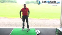 Adjustments From A Normal Set-Up For Big Golf Drives Video - by Peter Finch