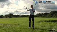Aiming Your Golf Shot When The Ball Is Above Your Feet Video - Lesson by PGA Pro Pete Styles