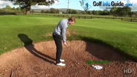 Golf Bunker Rules, Am I Allowed To Touch The Sand Before My Shots Video - by Pete Styles
