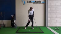 Longer Drives with Club Head Upswing Strike, Golf Video - by Pete Styles