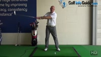 Backswing How Far Back Should a Golfer Take the Club Back Senior Golf Tip Video - by Dean Butler