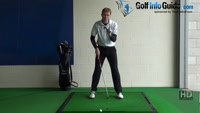 Fat Golf Shot Drill: Ball tee peg ahead drill Video - by Pete Styles
