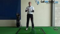 Hook Golf Shot Drill 2:  Basket behind ball inside line Video - Lesson by PGA Pro Pete Styles