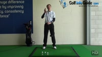 Beginner Golf Tip - Correct Height for Hitting the Driver Video - by Pete Styles