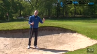 Being Smart With Your Golf Targets From A Long Greenside Bunker Video - by Pete Styles