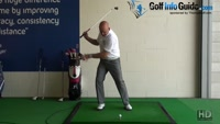 Best Back Leg Position for Power. Senior Golf Tip Video - by Dean Butler