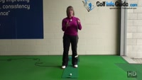 Best Method to Putt Two Tiered Greens Ladies Putting Tip Video - by Natalie Adams