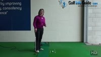 Best Putting Drill Tee Drill for Square Impact Women Golf Tip Video - by Natalie Adams