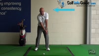 Best Way to Stay Behind the Golf Ball During the Swing and Impact - Senior Golf Tip Video - by Dean Butler