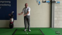 Best Way to Time your Backswing Left Arm And Shoulder Stay Together - Senior Golf Tip Video - by Dean Butler