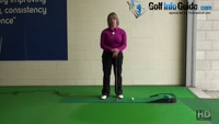 Best advice to Hole Short Putts Ladies Putting Tip Video - by Natalie Adams