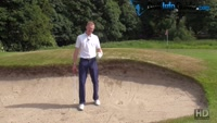 Bunker Technique Tips For  Golf Mental Games Improvements Video - by Pete Styles