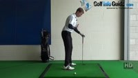 Thin Golf Shot Drill 3: Buttons onto ball Video - by Pete Styles
