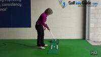 Cause and Cure Pushing Your Putts Ladies Putting Tip Video - by Natalie Adams