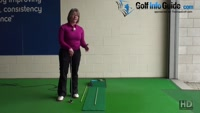 Cause and Cure for Bad Putter Alignment Ladies Putting Tip Video - by Natalie Adams