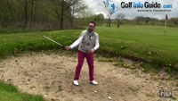 Changing Golf Set Up For A Spinner Out Of The Bunker Video - by Peter Finch
