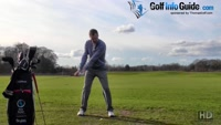 Check Your Balance To Stop Pop Up Golf Tee Shots Video - Lesson by PGA Pro Pete Styles