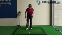 Check Your Golf Divots For Swing Information Feedback, Women Golfer Video - by Natalie Adams