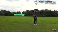 Chipping Off A Golf Ball Below The Feet Lie Video - by Peter Finch