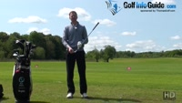 Choke Up On The Golf Club For Better Golf Shot Accuracy Video - by Pete Styles