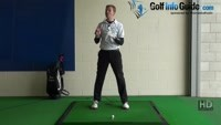 Shorter Golf Swing Drill 7 Close your front eye for head stability Video - Lesson by PGA Pro Pete Styles