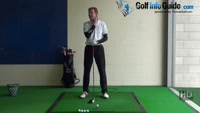 Golf Pro Colin Montgomerie: Upper Body Tilt (Almost a Reverse Pivot) Video - by Pete Styles