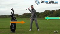 Correct Golf Knee Flex Video - by Pete Styles