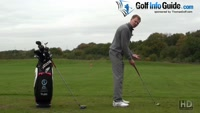 Correct Golf Stance Knee Bend Video - by Pete Styles