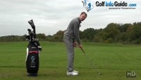 Correct Knee Bend For Golf Posture Video - by Pete Styles
