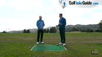 Correct Shoulder Plane In The Golf Swing Explained - Video Lesson by PGA Pros Pete Styles and Matt Fryer