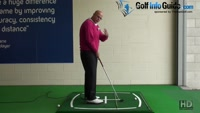 Correct Your Aim To The Target For Best Trajectory And Shot Shape - Senior Golf Tip Video - by Dean Butler