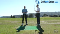 Correct handle position for the driver - Video lesson by PGA pros Pete Styles and Matt Fryer
