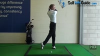 Correct poor balance by holding your finish, Golf Video - by Pete Styles