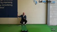 Correct way to Putt Two Tiered Greens Senior Putting Tip Video - by Dean Butler