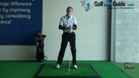 Credit Card in Back of Glove to Check Impact Position, Golf Video - by Pete Styles