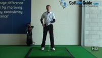 Credit card in back of glove to check setup, Golf Drill Video - Lesson 3 by PGA Pro Pete Styles