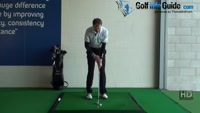 Crisp Pitching no Scoops with Left Handed, Golf Drill Video - by Pete Styles