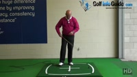 Cure Uphill Chip Shot Problems - Senior Golf Tip Video - by Dean Butler