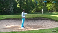 Differences In A Bunker Golf Swing Video - by Peter Finch