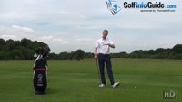 Different Swing Technique Direction Keep Left Heel Down For Better Golf Video - Lesson by PGA Pro Pete Styles