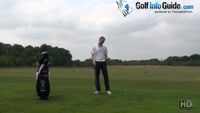 Divots Pointing Left Of The Target Line Golf Tip Video - Lesson by PGA Pro Pete Styles