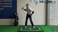 Does The Left Hip Move Upwards In The Down Swing Golf Swing Tip Video - by Pete Styles