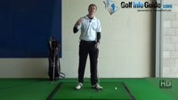Shank Golf Shot Problem Drill 5: Drop club inside at top Video - by Pete Styles