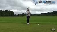 Executing The Golf Walk Through Drill On The Range Video - by Peter Finch
