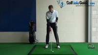 Fat Golf Shot Drill: Finishing line hands win the race Video - by Pete Styles