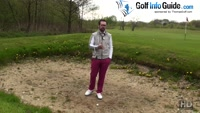 Five Common Golf Bunker Mistakes - Not Checking Landing Point Video - by Peter Finch