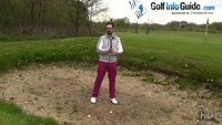 Five Common Golf Bunker Mistakes - Not Opening The Club At Address For Loft Video - by Peter Finch